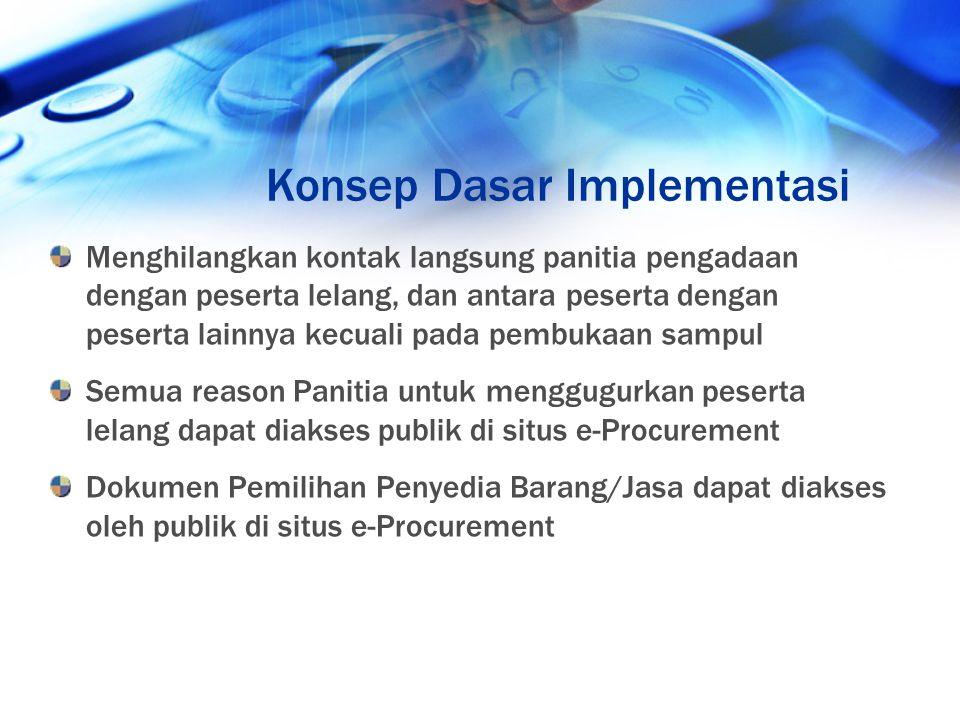 Konsep Dasar Implementasi
