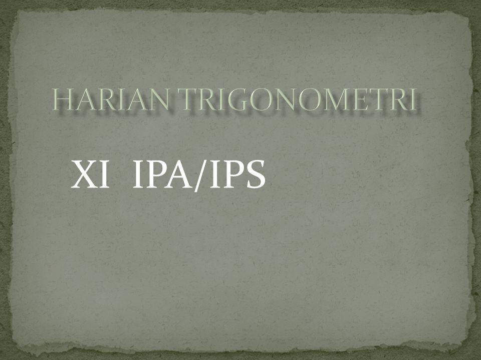 HARIAN TRIGONOMETRI XI IPA/IPS