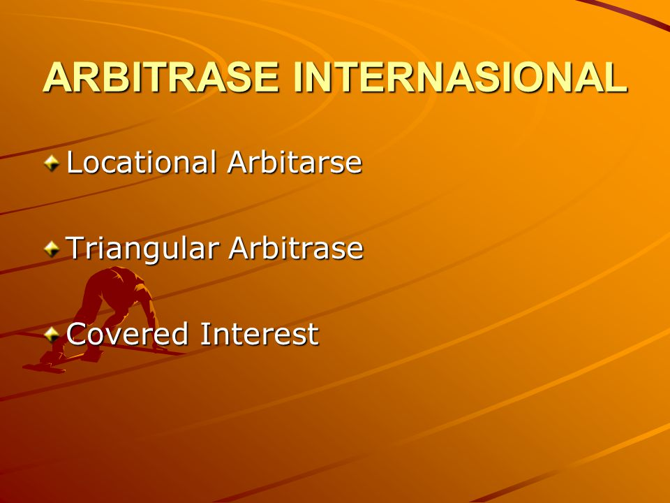 ARBITRASE INTERNASIONAL