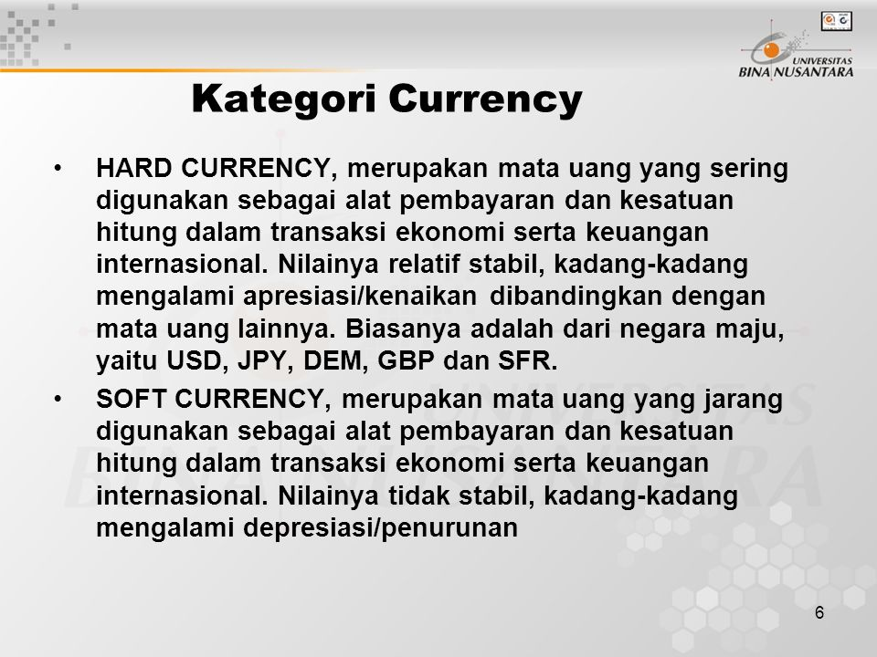 Kategori Currency