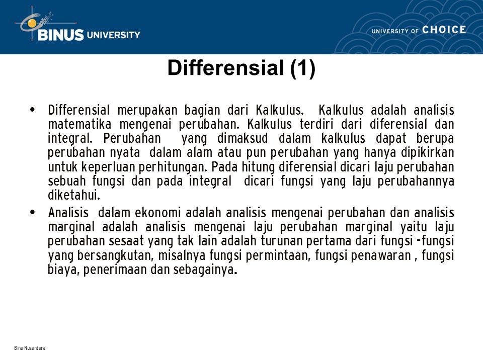 Differensial (1)