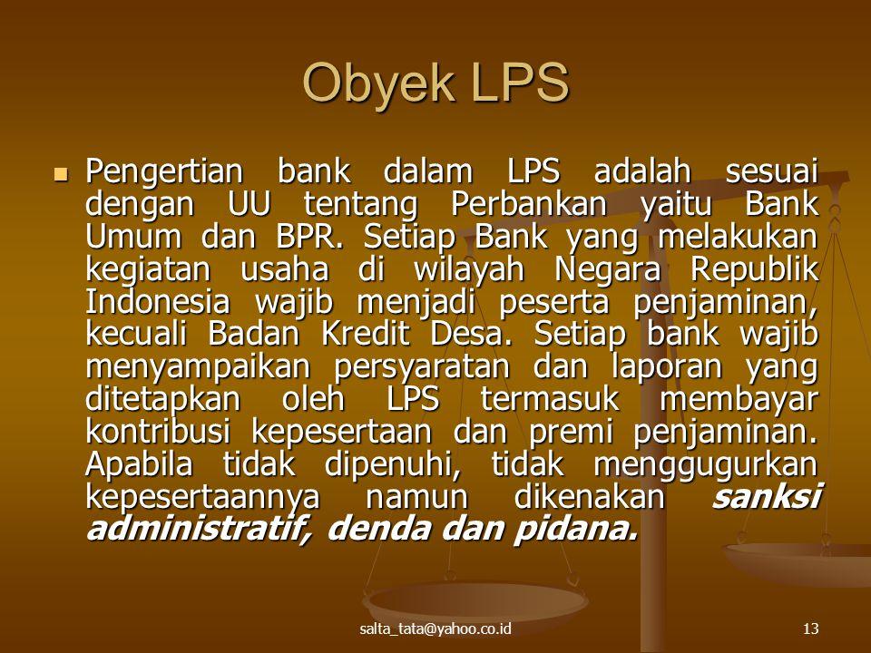 Obyek LPS