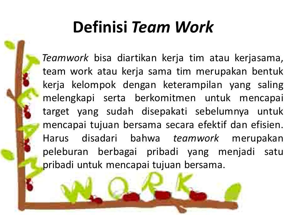 Definisi Team Work