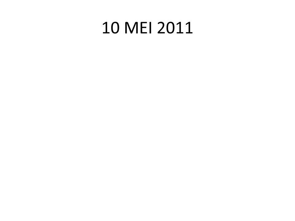 10 MEI 2011