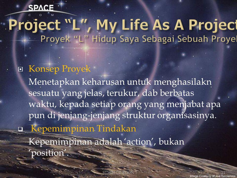 Project L , My Life As A Project Proyek L Hidup Saya Sebagai Sebuah Proyek