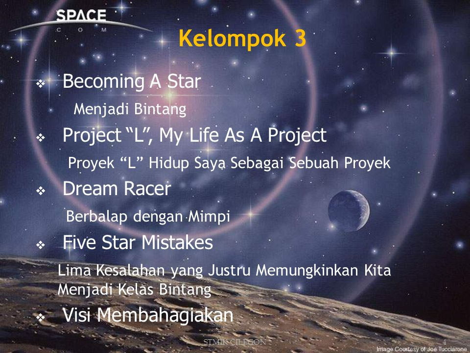Kelompok 3 Dream Racer Becoming A Star Menjadi Bintang
