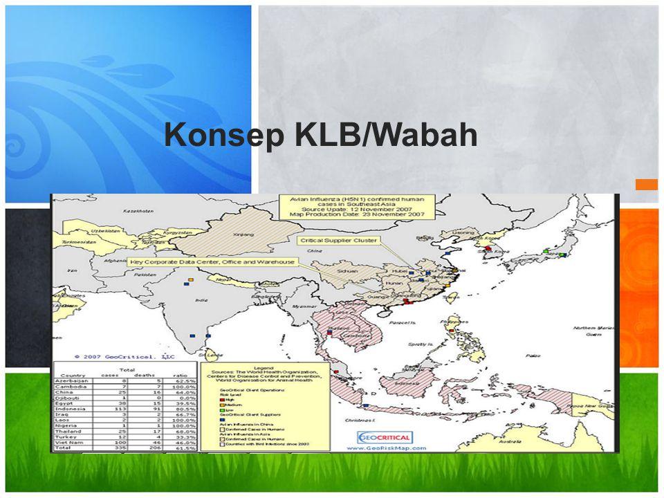 Konsep KLB/Wabah