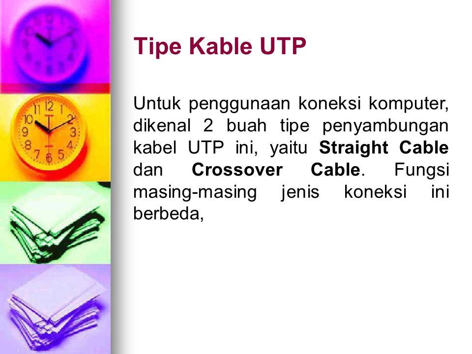 Tipe Kable UTP