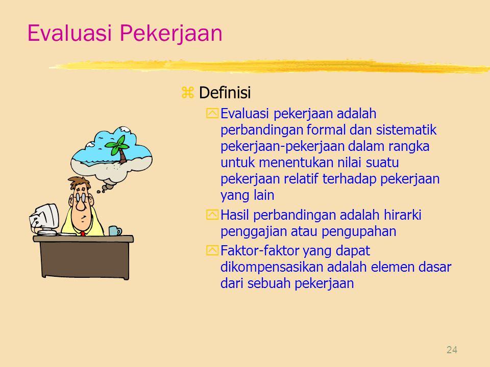 Evaluasi Pekerjaan Definisi