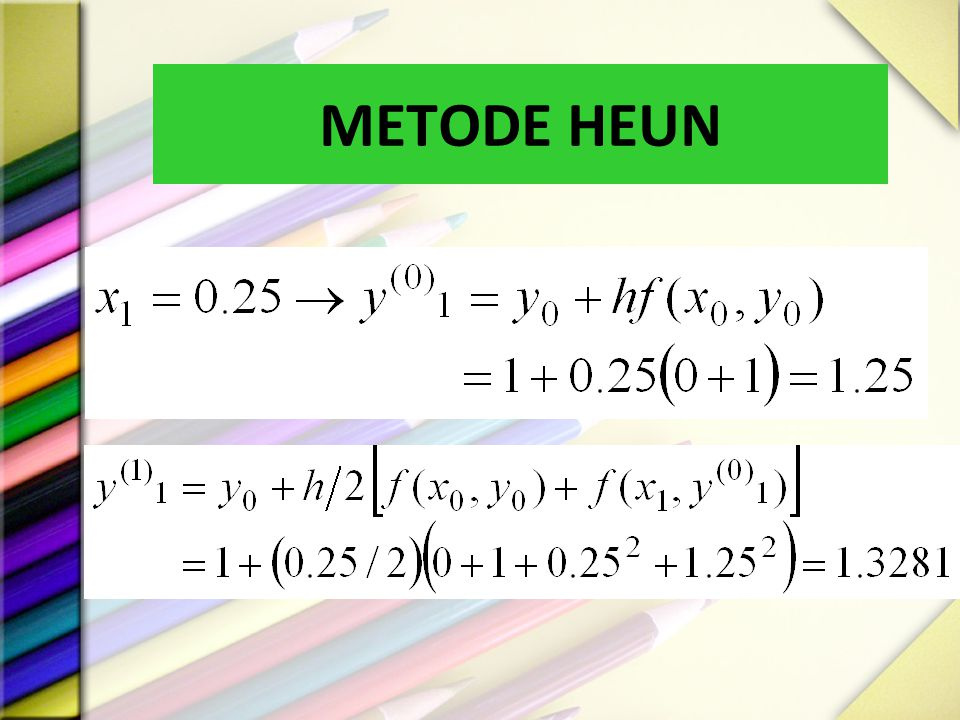 METODE HEUN