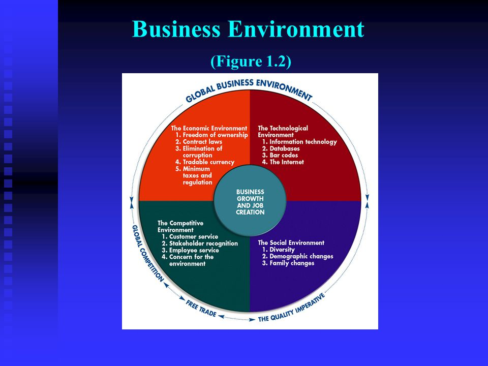 Business Environment (Figure 1.2)