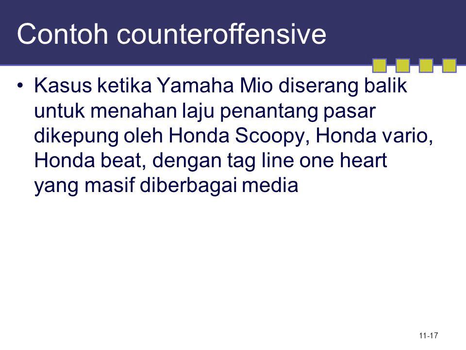Contoh counteroffensive