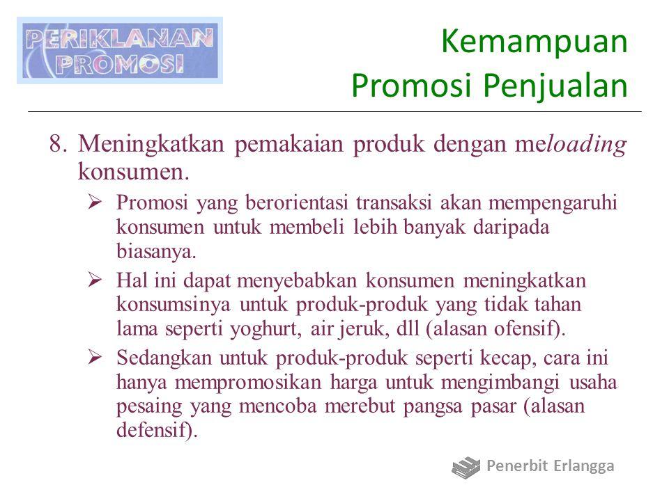 Kemampuan Promosi Penjualan