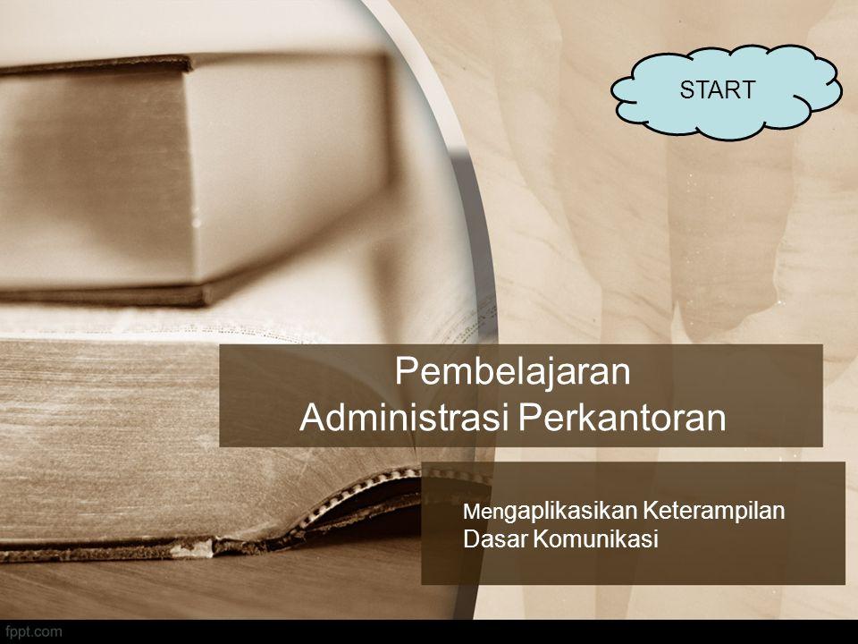 Pembelajaran Administrasi Perkantoran