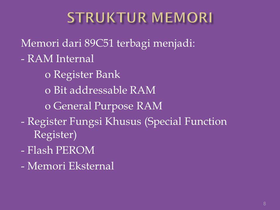 STRUKTUR MEMORI