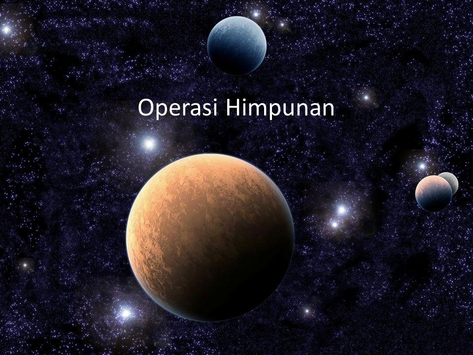Operasi Himpunan