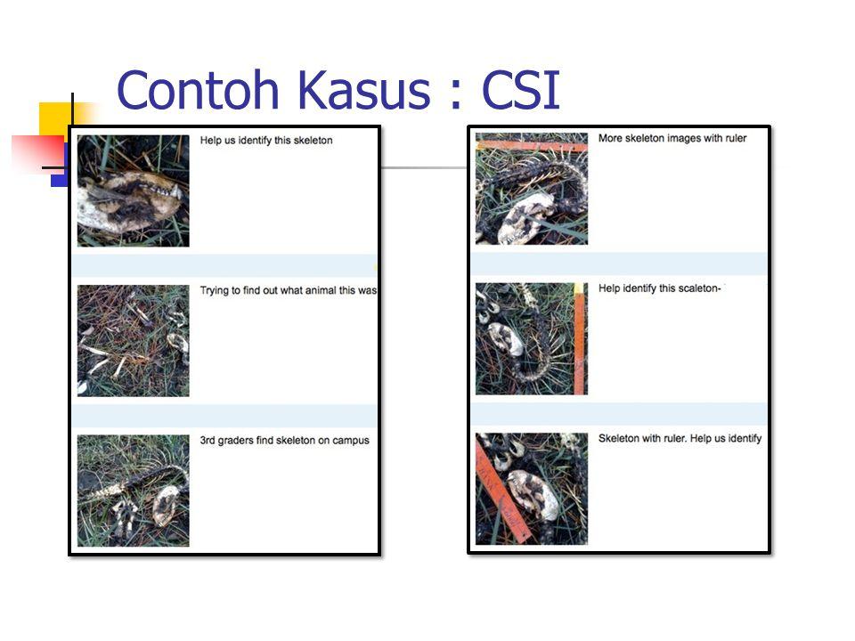 Contoh Kasus : CSI