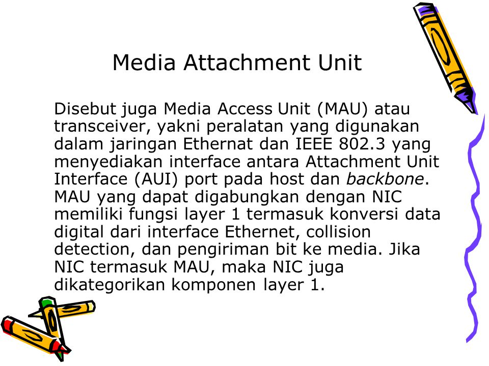 Media Attachment Unit