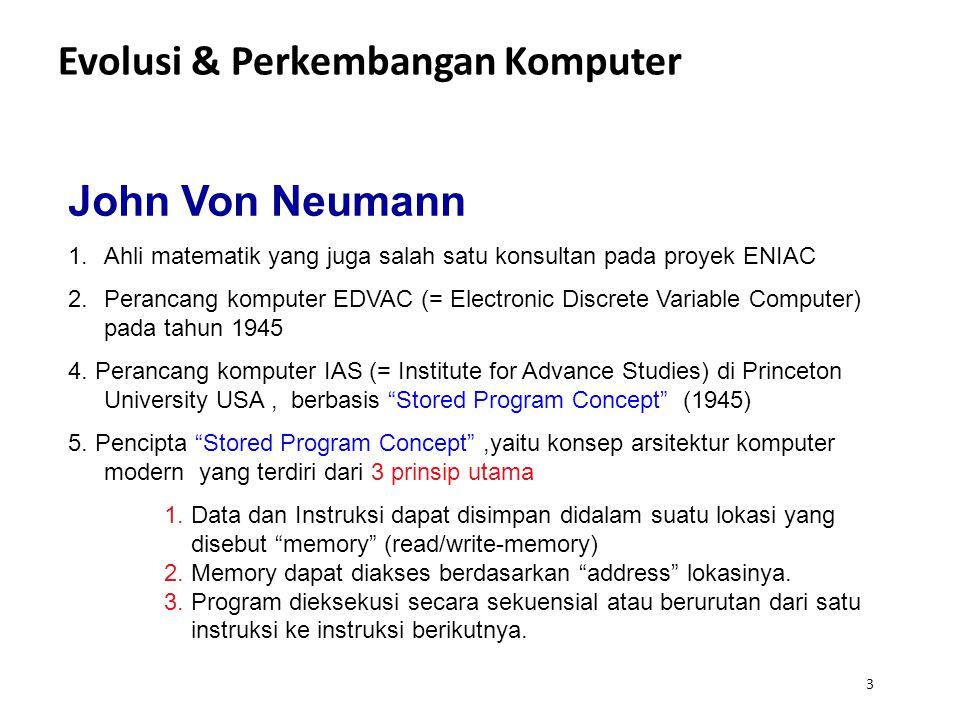 Evolusi & Perkembangan Komputer