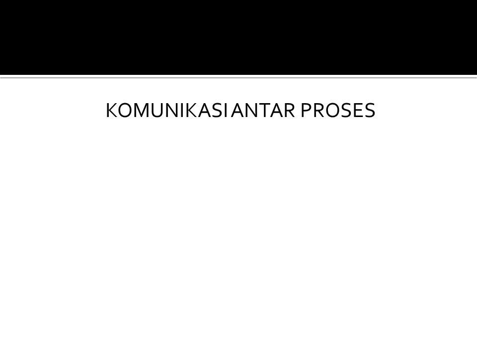 KOMUNIKASI ANTAR PROSES