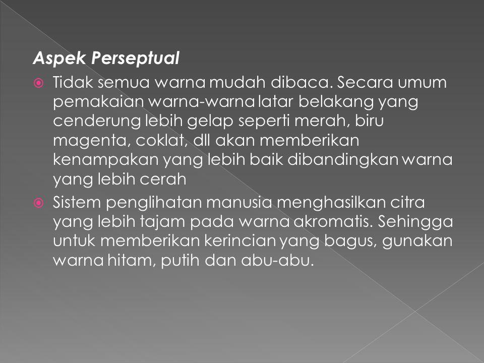 Aspek Perseptual