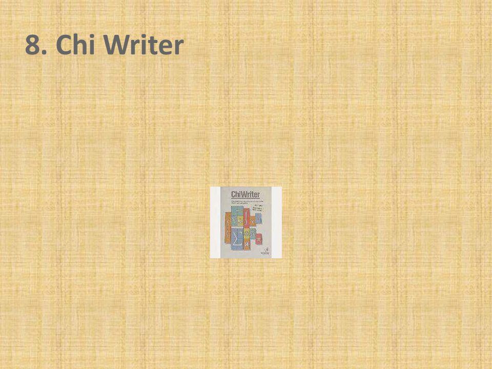 8. Chi Writer