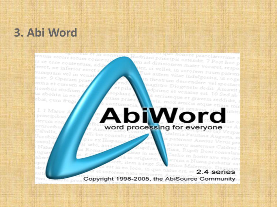 3. Abi Word