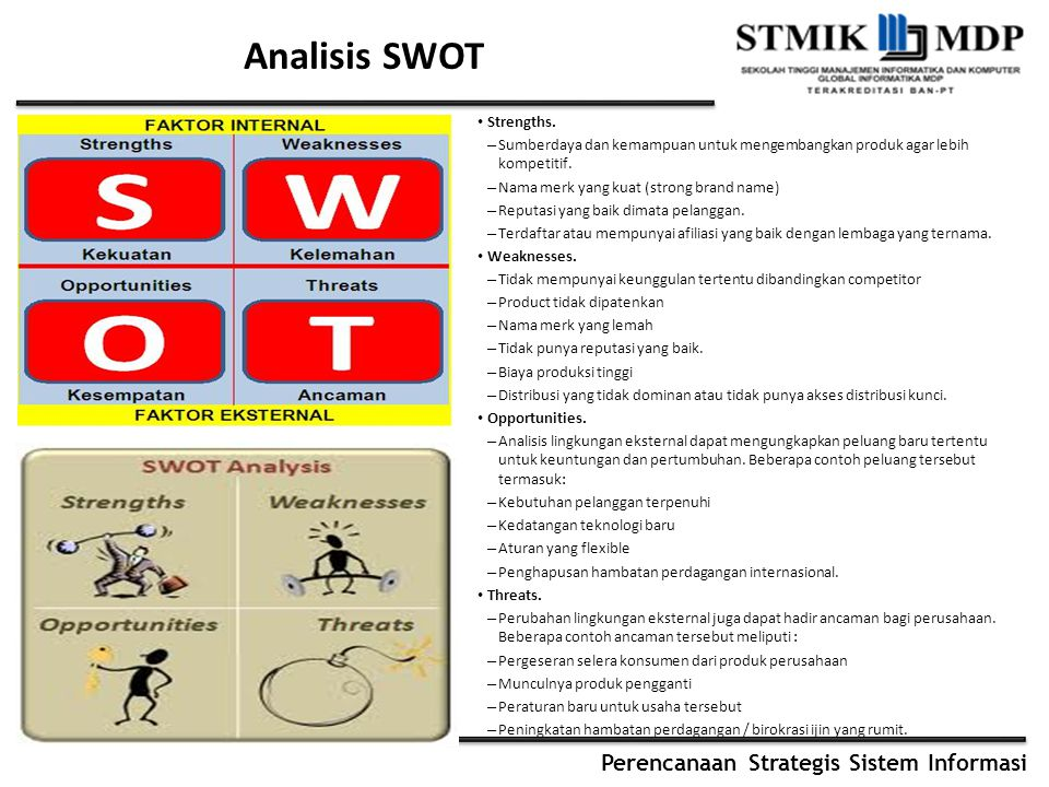 Analisis SWOT Strengths.