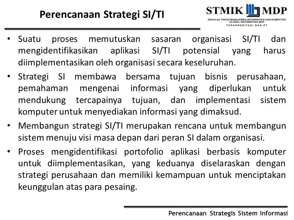Perencanaan Strategi SI/TI