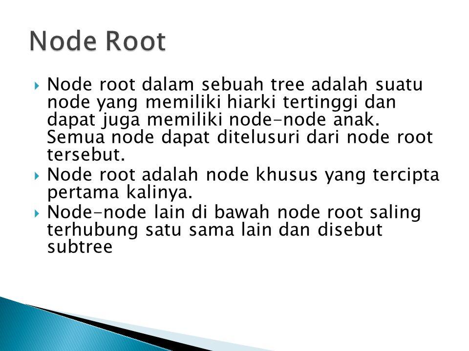 Node Root