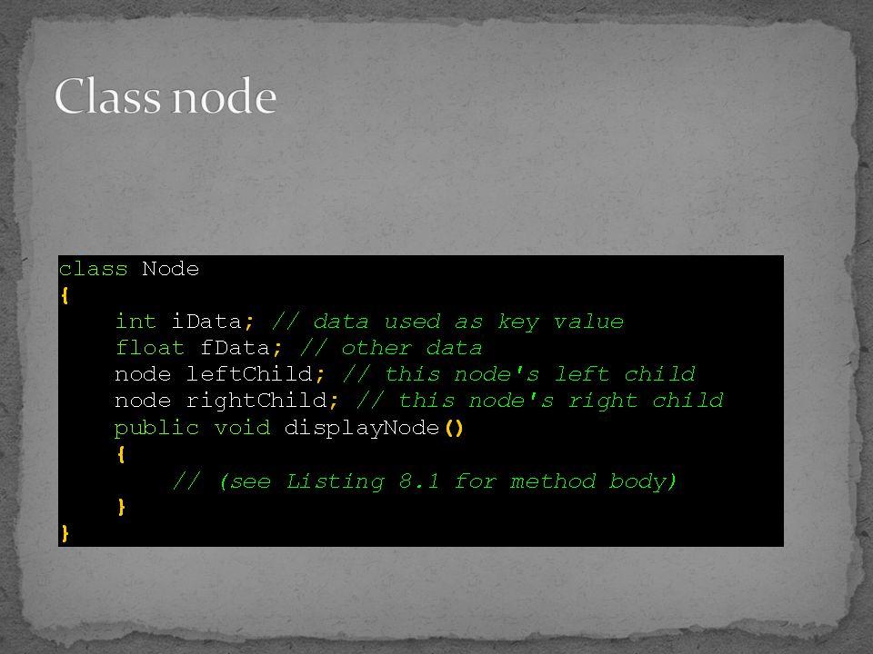 Class node