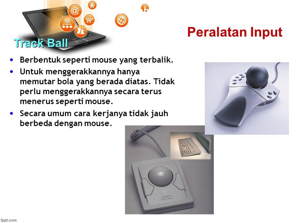Peralatan Input Track Ball Pertemuan 2