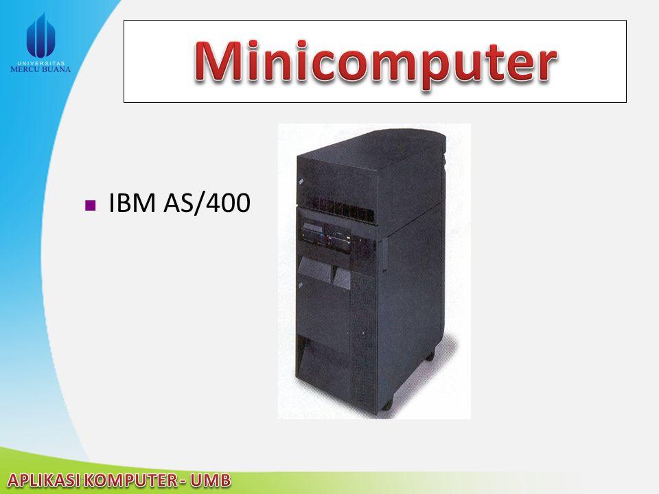 Minicomputer IBM AS/400