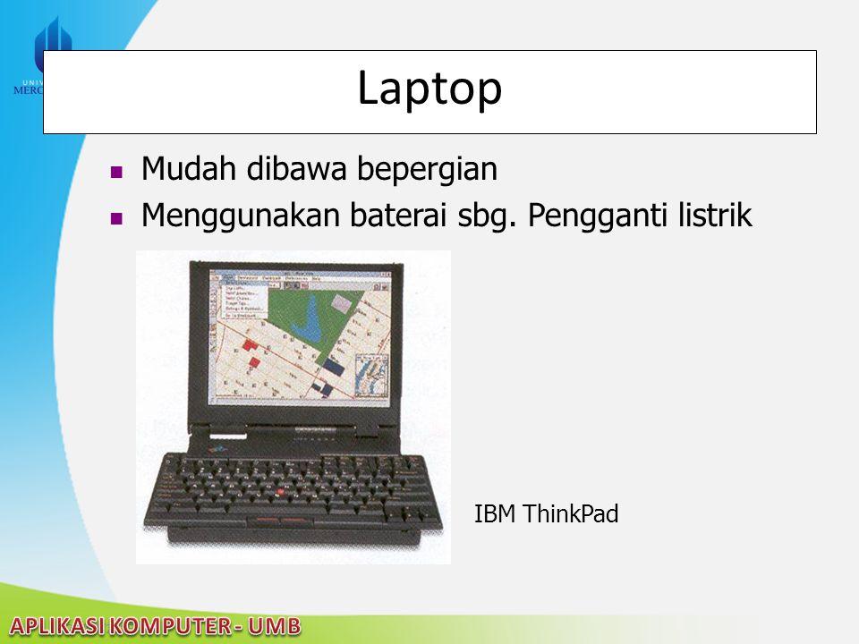 Laptop Mudah dibawa bepergian