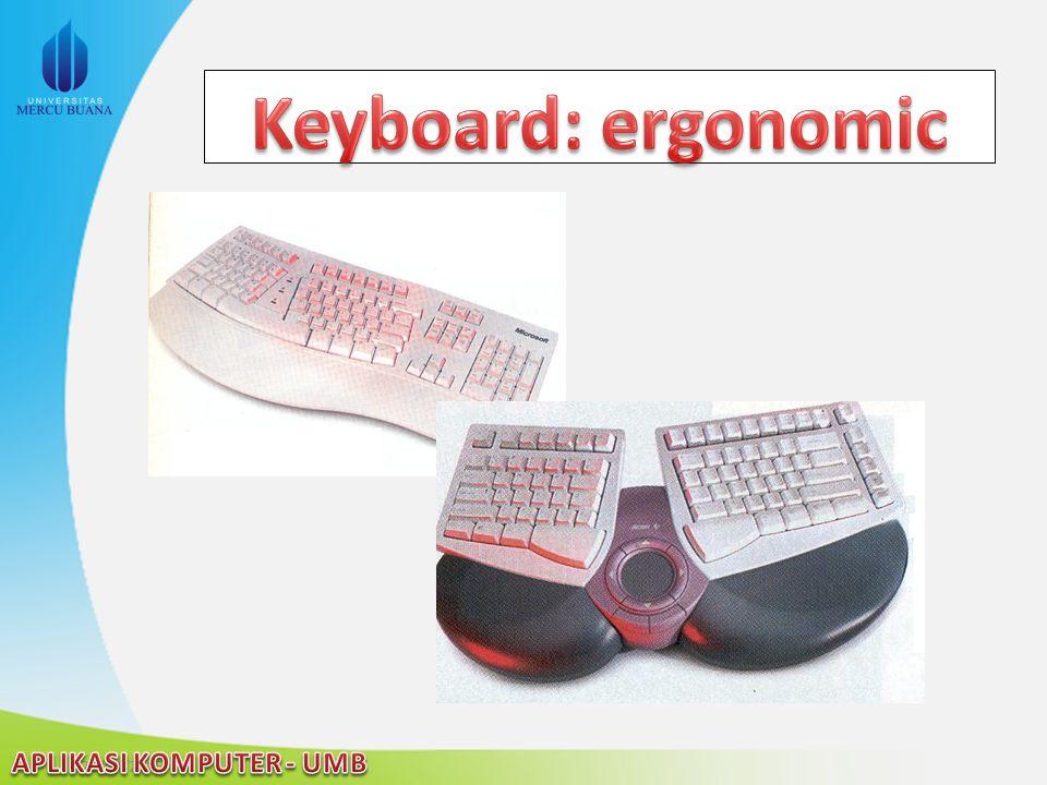 Keyboard: ergonomic