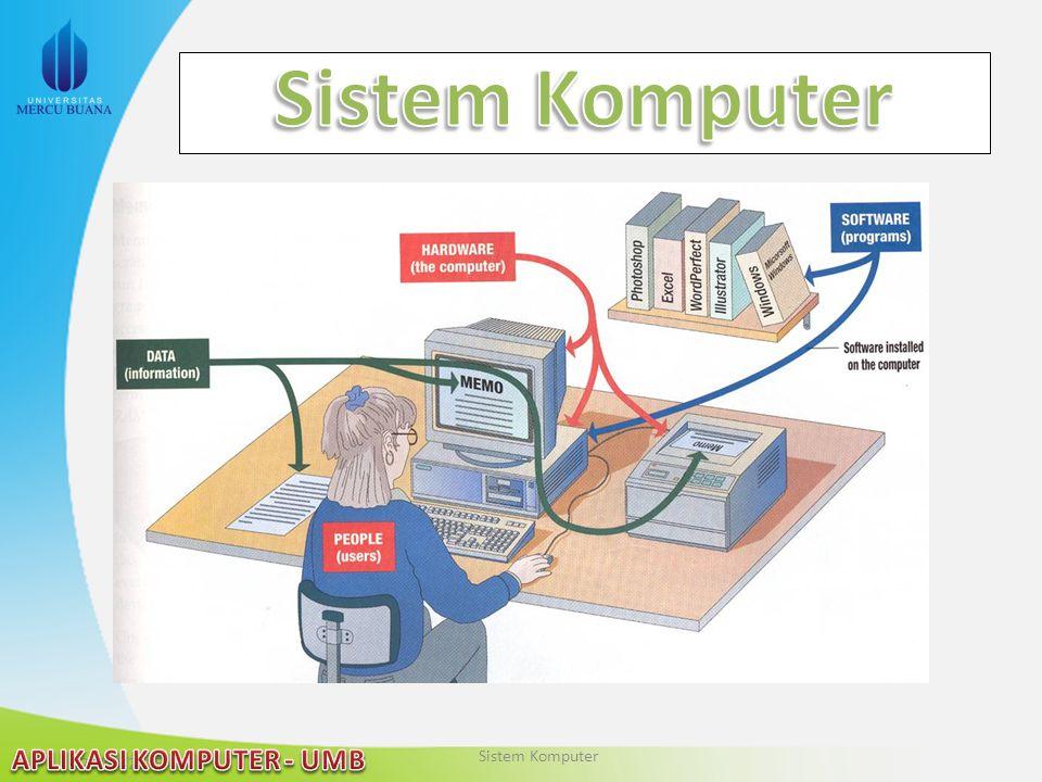 Sistem Komputer Sistem Komputer 2