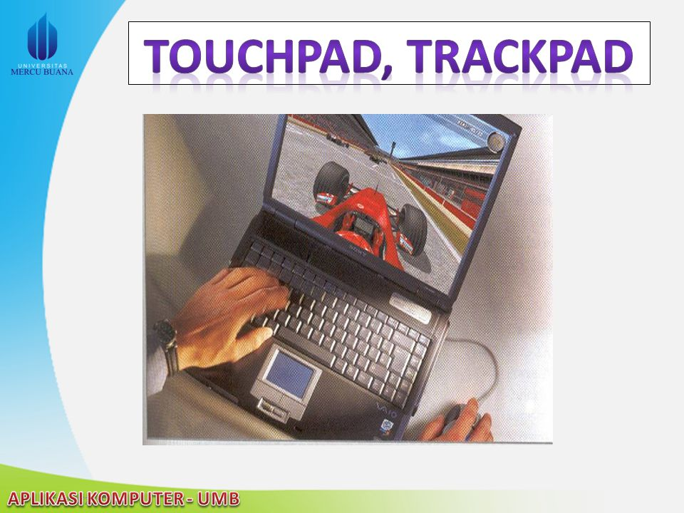 Touchpad, trackpad