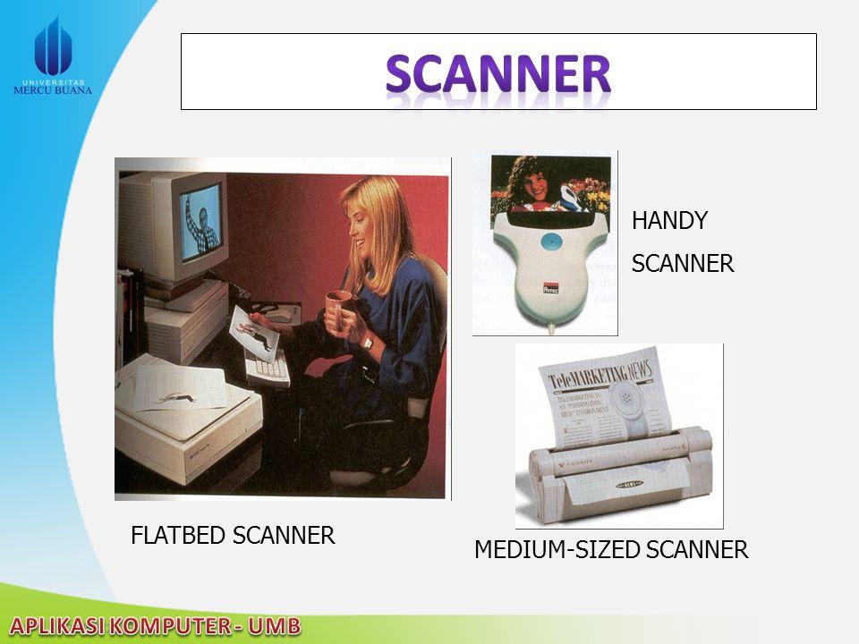 Scanner HANDY SCANNER FLATBED SCANNER MEDIUM-SIZED SCANNER