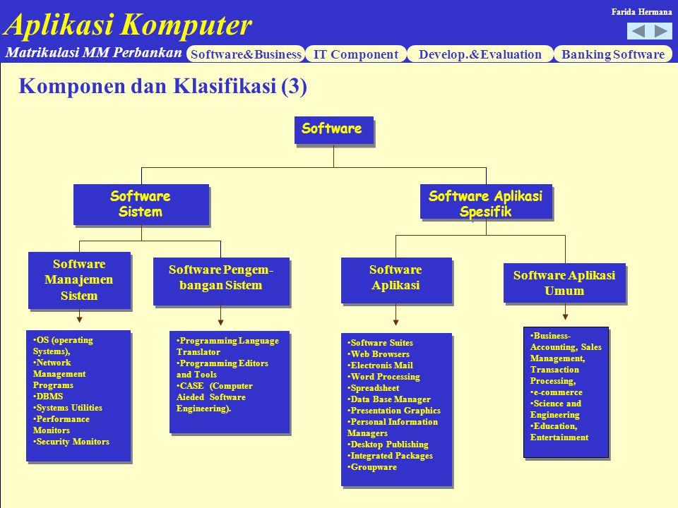 Komponen dan Klasifikasi (3)
