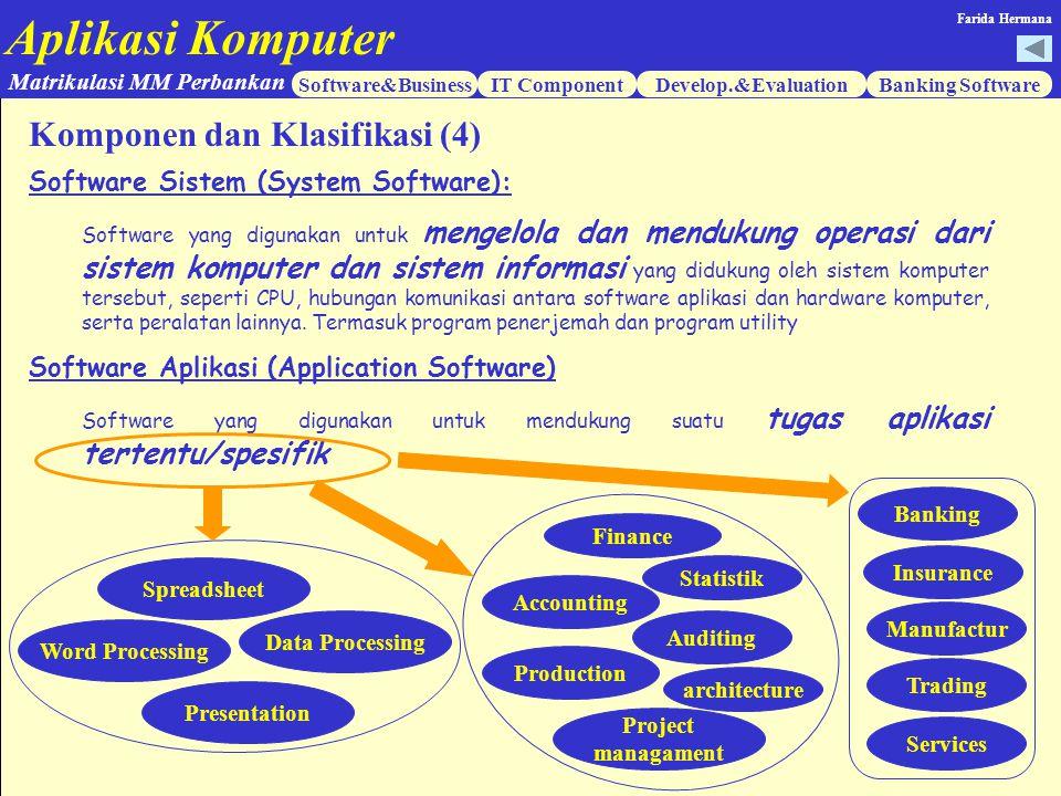 Komponen dan Klasifikasi (4)