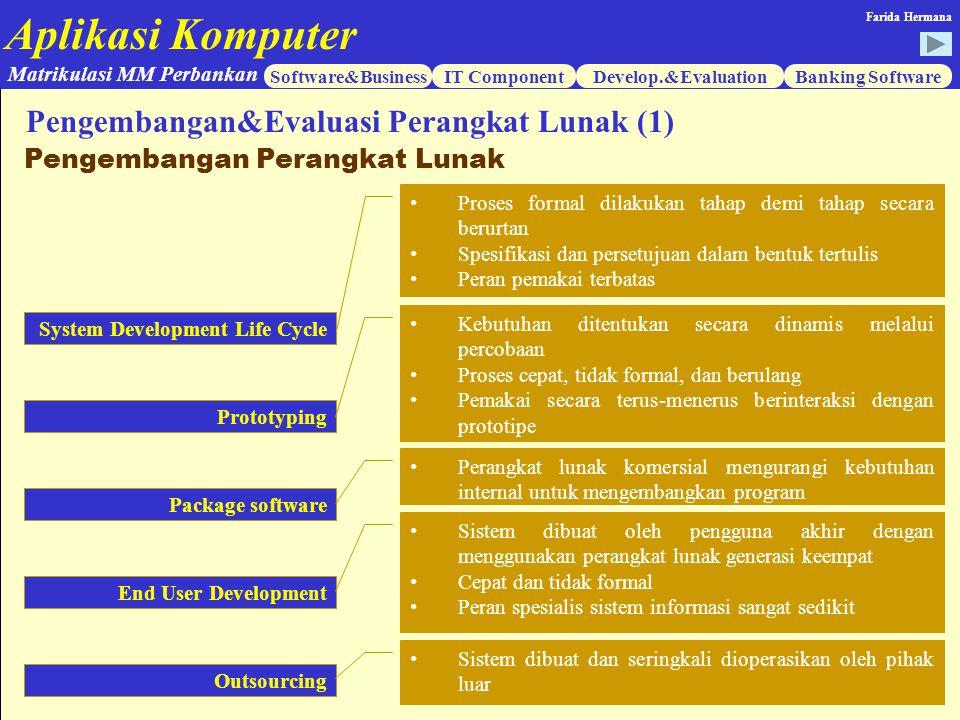 Pengembangan&Evaluasi Perangkat Lunak (1)