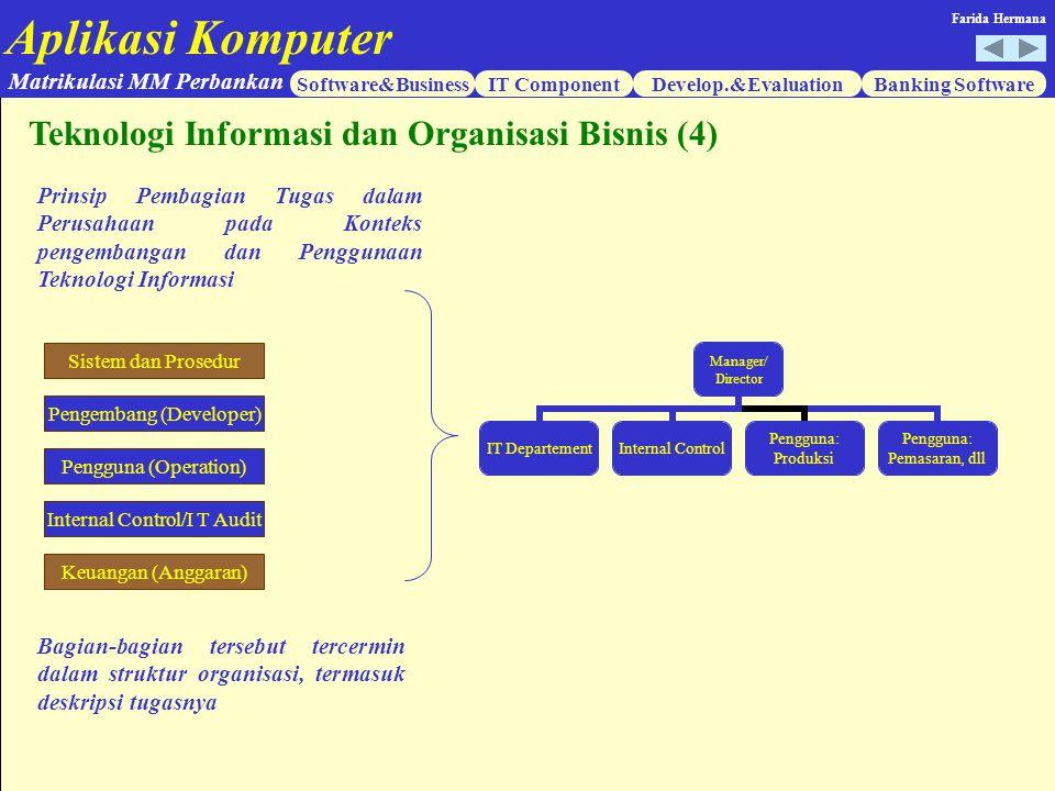 Teknologi Informasi dan Organisasi Bisnis (4)