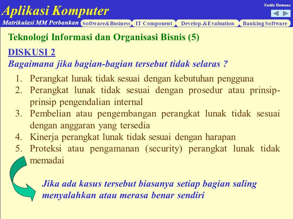 Teknologi Informasi dan Organisasi Bisnis (5)