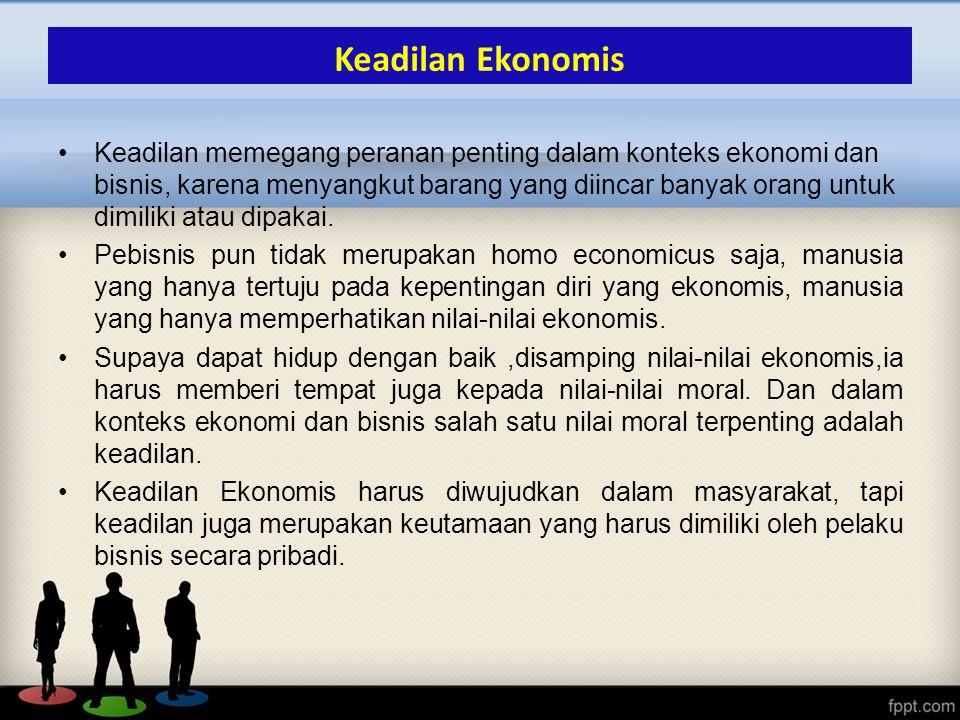 Keadilan Ekonomis