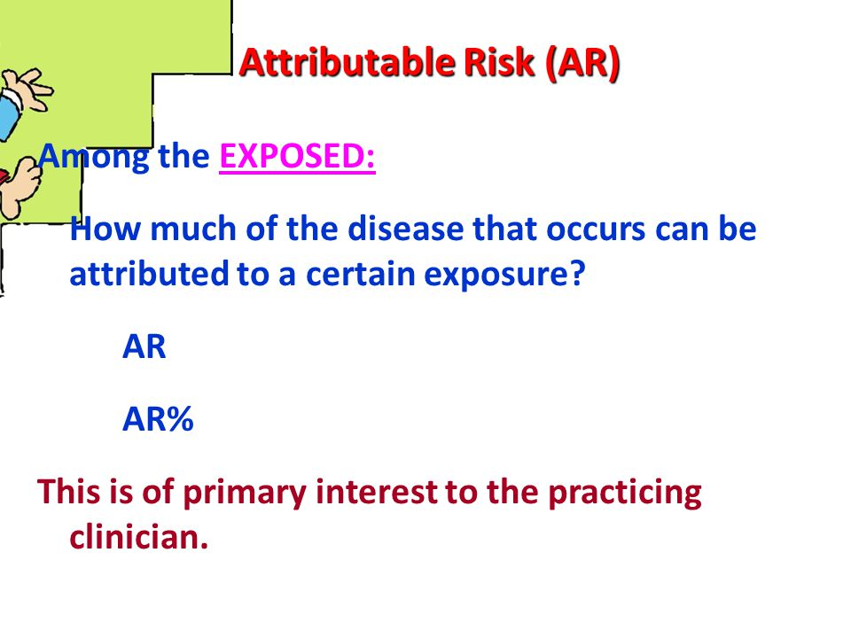 Attributable Risk (AR)