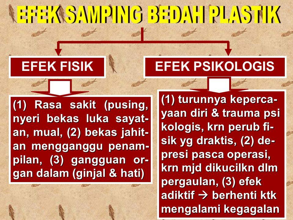 EFEK SAMPING BEDAH PLASTIK
