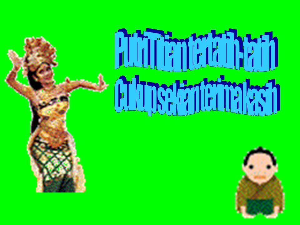 Putri Titian tertatih-tatih