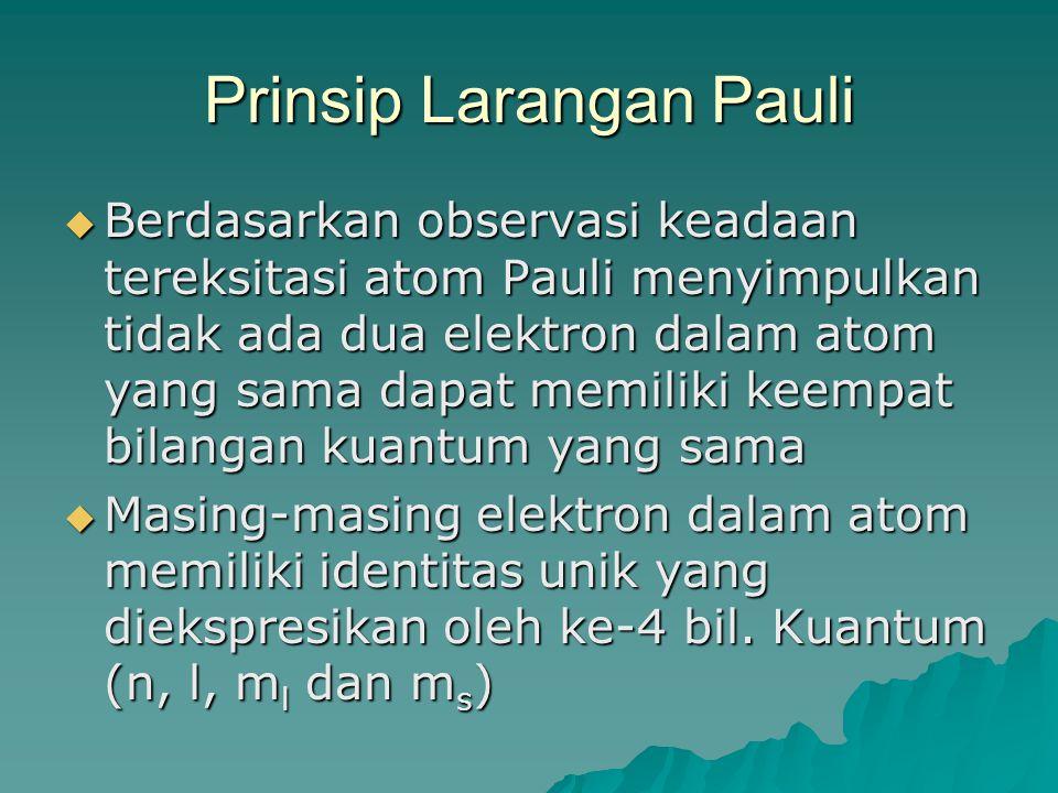 Prinsip Larangan Pauli