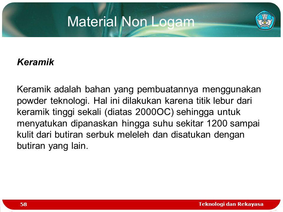 Material Non Logam Keramik