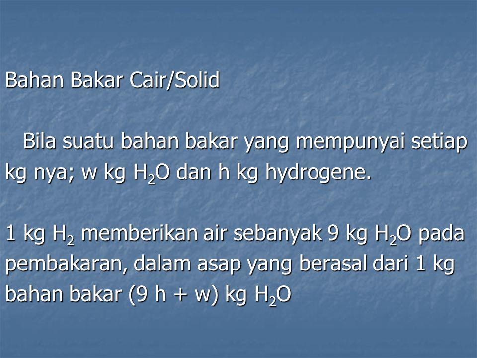 Bahan Bakar Cair/Solid